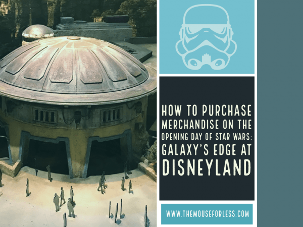 Buying Opening Day Merchandise at Star Wars: Galaxy's Edge