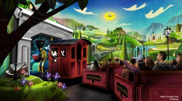 Mickey and Minnies Runaway Railway