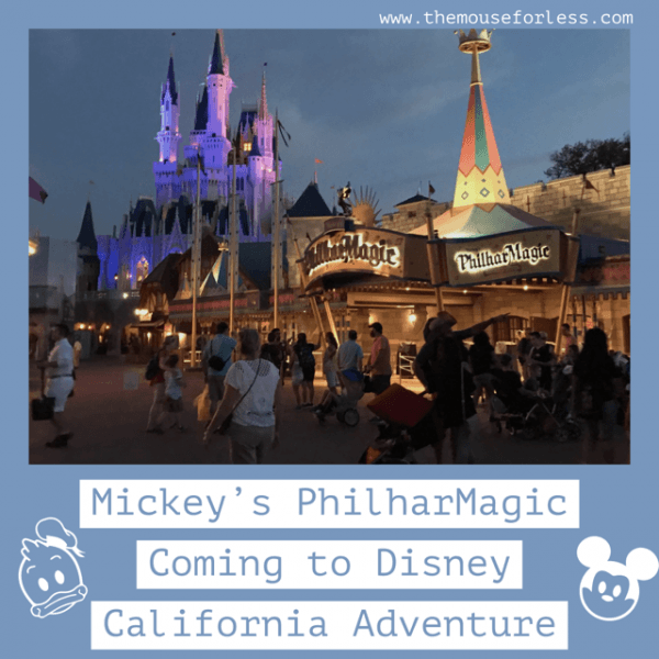 Mickey's PhilharMagic Coming to Disney California Adventure