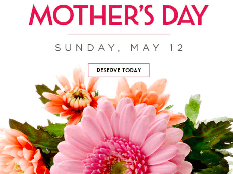 Mother's Day Brunch at Catal Restaurant in Downtown Disney