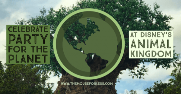 Celebrate Earth Day with the Party for the Planet at Disney's Animal Kingdom