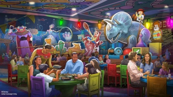 Roundup Rodeo BBQ Restaurant coming to Toy Story Land