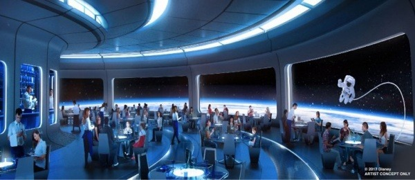 Space Restaurant at Epcot to Open This Year
