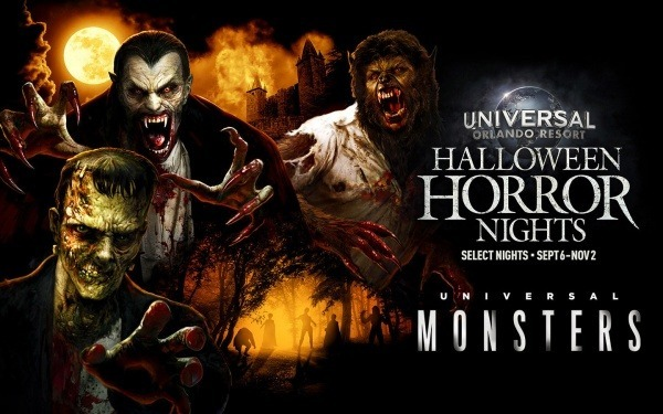 Universal Monsters Coming to Halloween Horror Nights