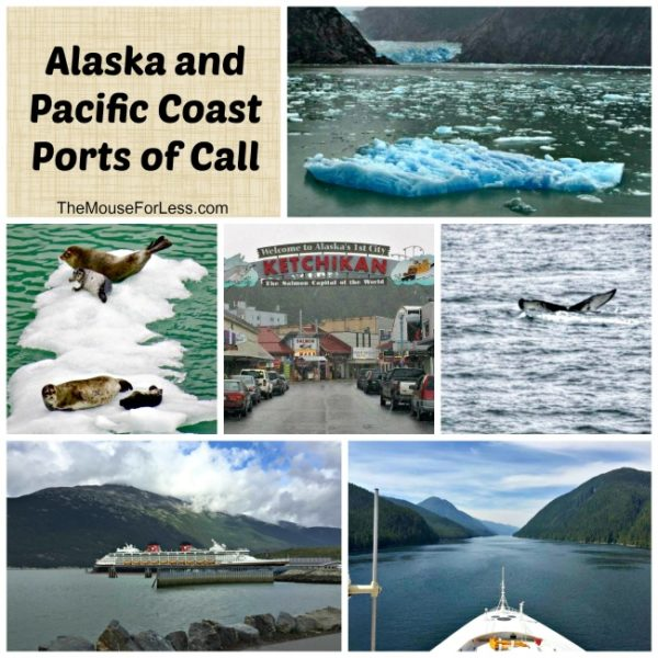 Alaskan and Pacific Coast Ports of Call | Disney Cruise Line