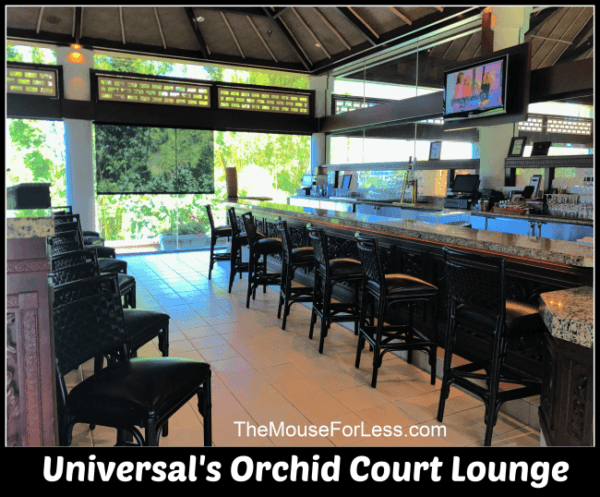 Universal's Orchid Court Lounge