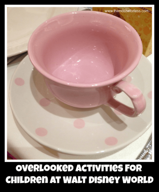 Overlooked Activities For Children at Walt Disney World