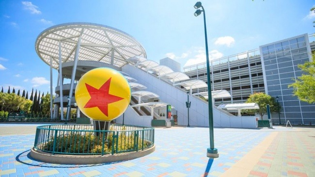 Pixar Pals Parking Garage