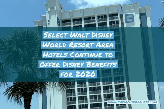 Walt Disney World Resort Area Hotels