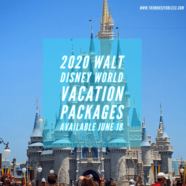 Events At Disney World 2020.2020 Walt Disney World Vacation Packages Go On Sale June 18