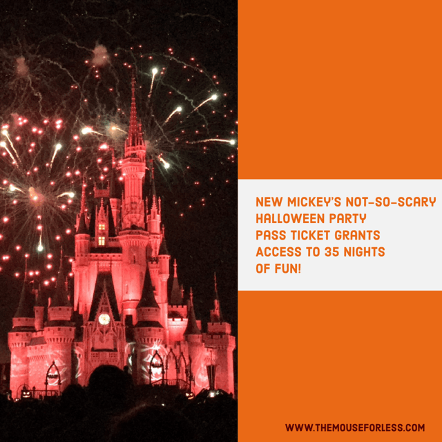 Mickey's Not-So-Scary Halloween Party Pass