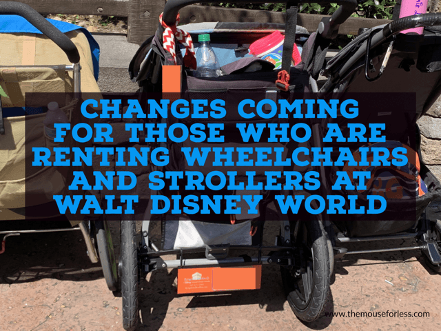 Wheelchairs and Strollers changes