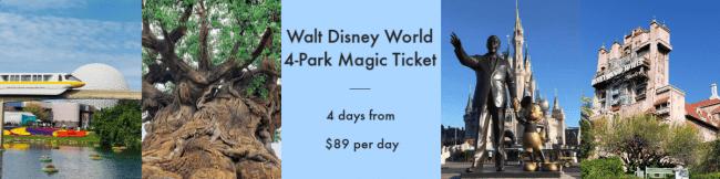 4 Park Magic Ticket