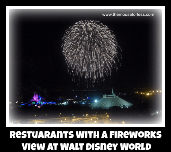 Restaurants with Fireworks Views