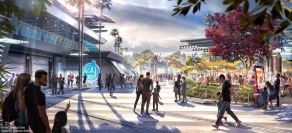Avengers Campus to Open on July 18 at Disney California Adventure