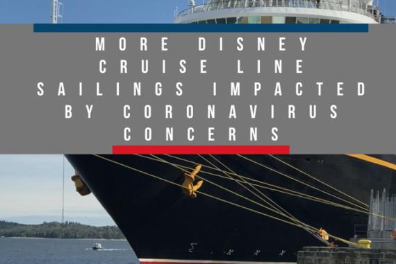 Disney Cruise Line Coronavirus Sailings