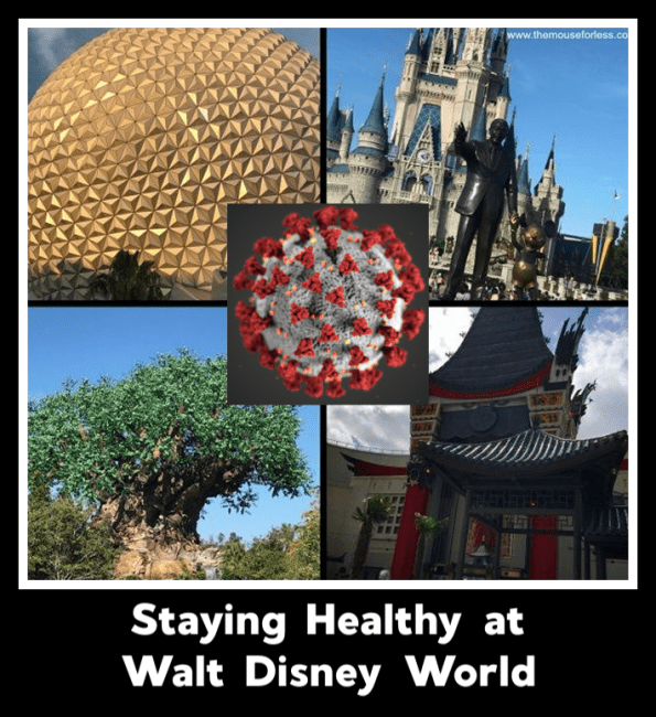 Stay Healthy at Walt Disney World