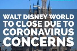 Walt Disney World to Close Due to Coronavirus Concerns