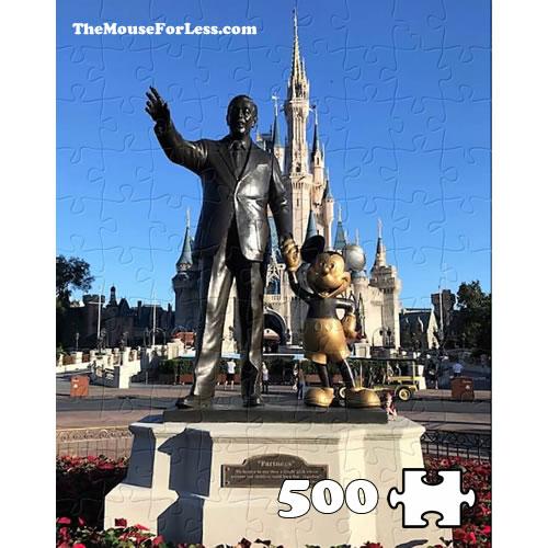 Disney Partners Statue Puzzle