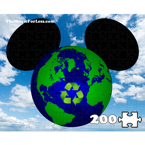 Mickey Earth Day Puzzle