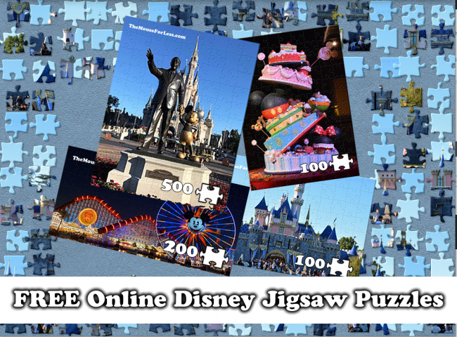 Free Online Disney Jigsaw Puzzles