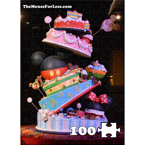 Pleasing Free Online Disney Jigsaw Puzzle Disney Birthday Cake Puzzle Personalised Birthday Cards Paralily Jamesorg