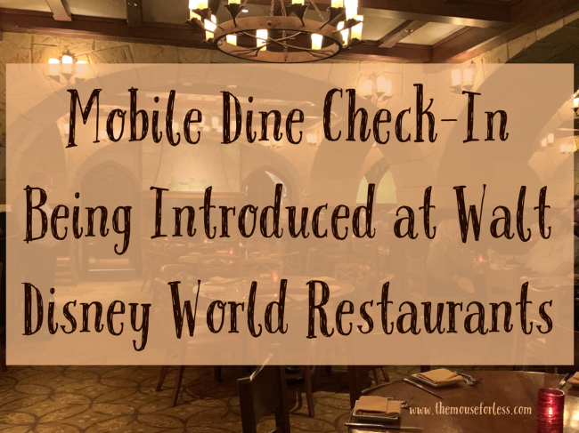Mobile Dine Check-In