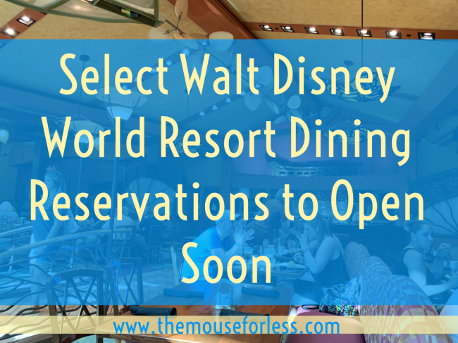 dining reservations
