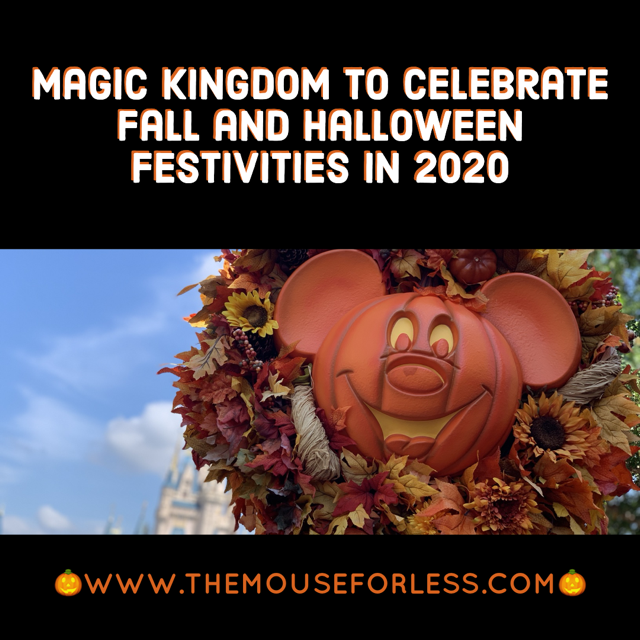 Halloween at the Magic Kingdom for 2020