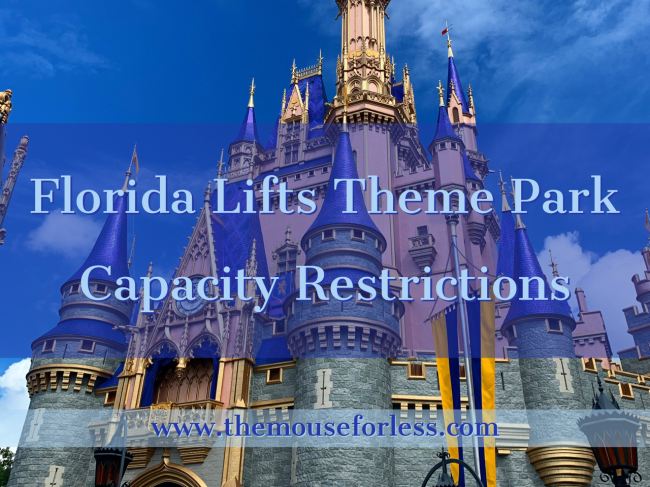 Florida Governor Lifts Theme Park Capacity Restrictions
