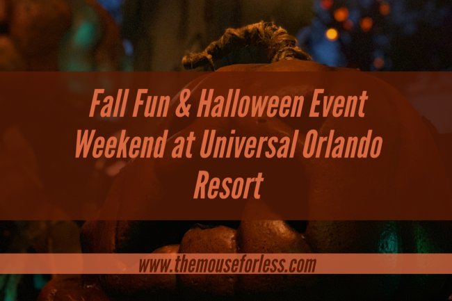 Halloween Event at Universal Orlando Resort