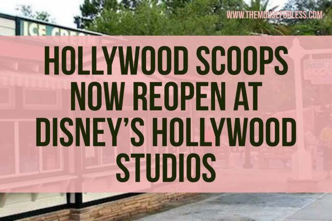 Hollywood Scoops Now Reopen