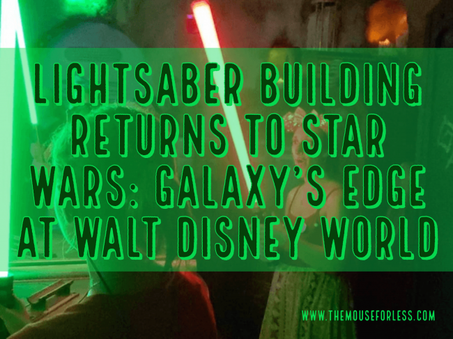 Savi's Workshop lightsaber building