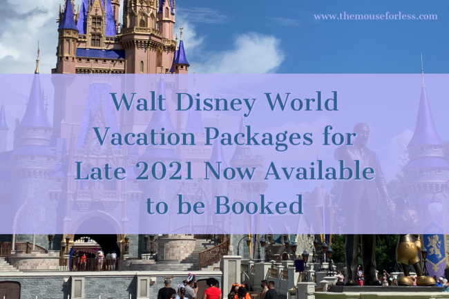 Walt Disney World Vacation Packages 2021