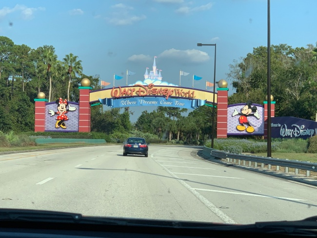 Walt Disney World Entrance