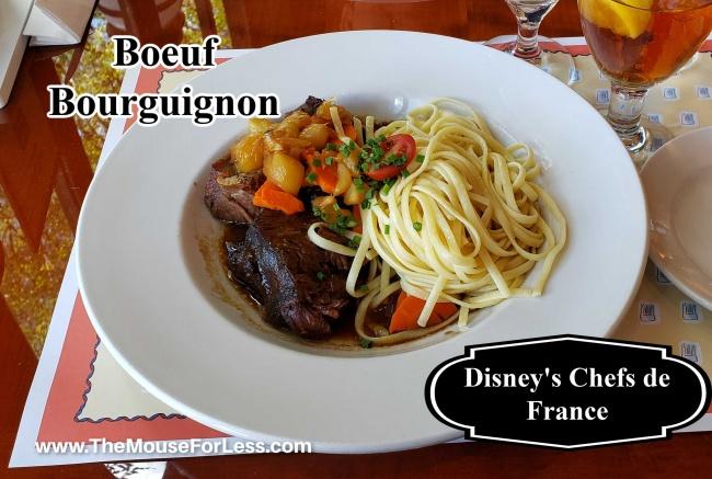 les Chefs de France Boeuf Bourguignon
