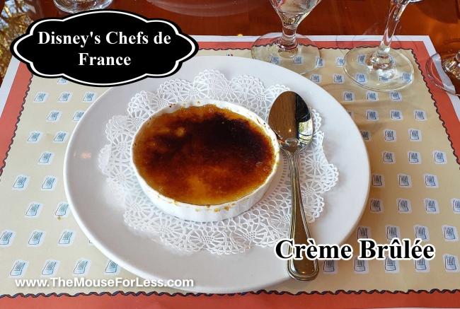 Les Chefs de France Creme Brulee