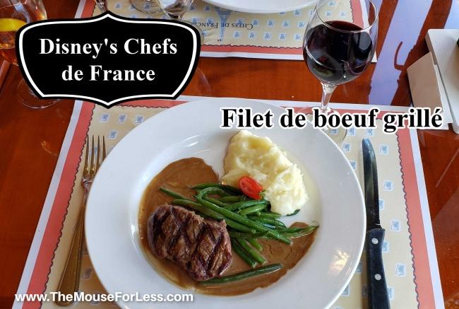 Les Chefs de France Filet de boeuf grille