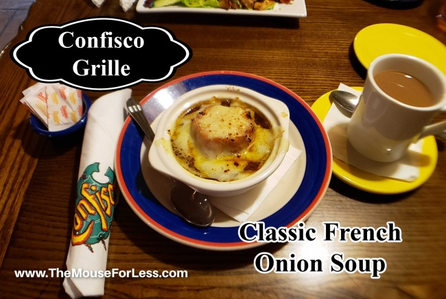 Confisco Grille Menu Classic French Onion Soup