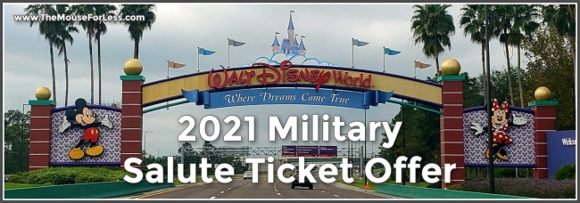 2021 Military Salute Ticket Offer