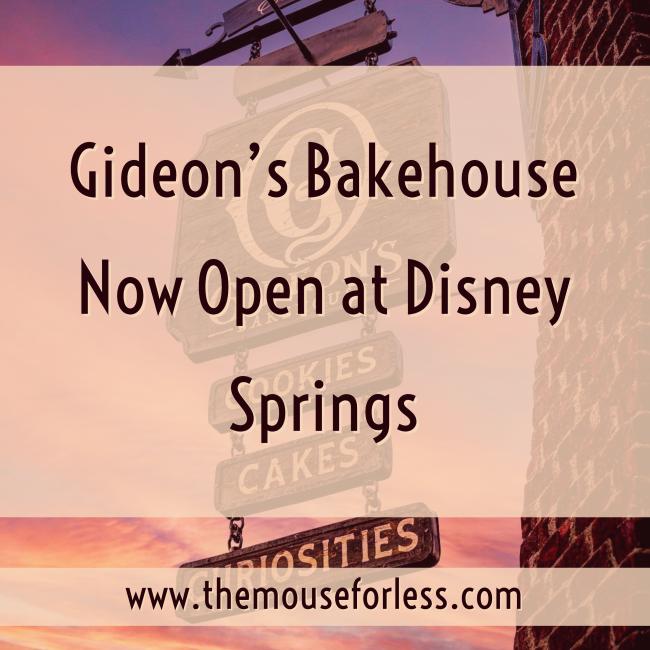 Gideon's Bakehouse Now Open