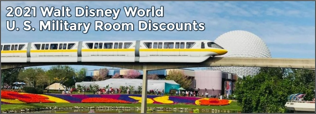 Walt Disney World Military Discounts