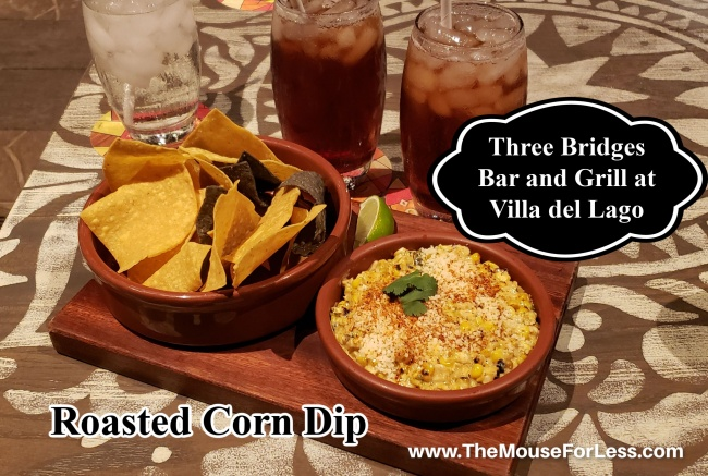 Three Bridges Bar and Grill Roasted Corn Dip