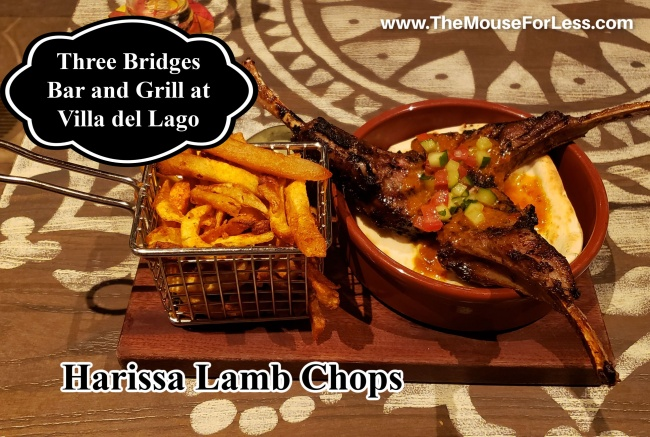 Three Bridges Bar and Grill Harissa Lamb Chops