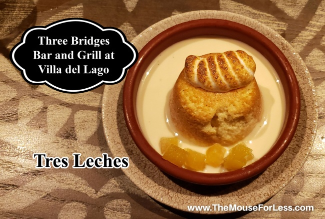 Three Bridges Bar and Grill Tres Leches