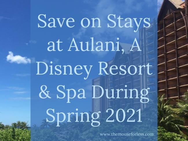 Save on Springtime Stays at Aulani, A Disney Resort & Spa