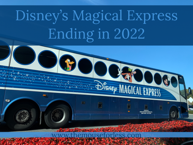 Disney's Magical Express to End Beginning in 2022