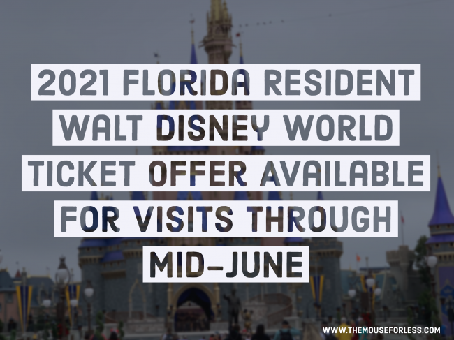 Florida Resident Tickets