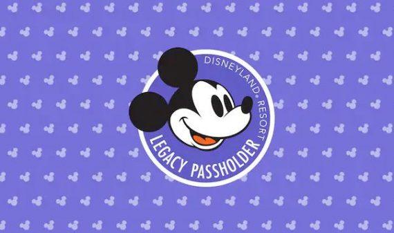 Disneyland Resort Legacy Passholder