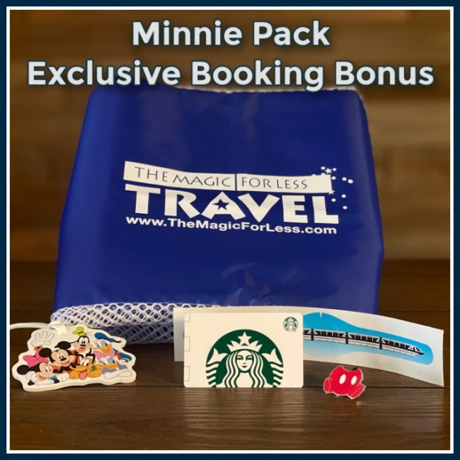 Minnie Pack Booking Bonus